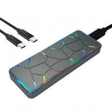 EVEREST CLUB RGB NVMe M.2 SSD 외장케이스